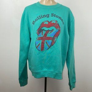 Rolling Stones Soft Unisex Sweatshirt, UK flag